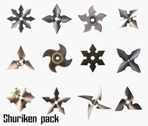 shurikens pack model