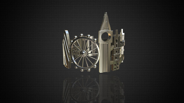 cityscape design ring london 3D model