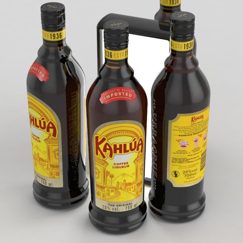 kahlua coffee 3D model