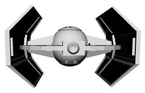 tie fighter advanced model