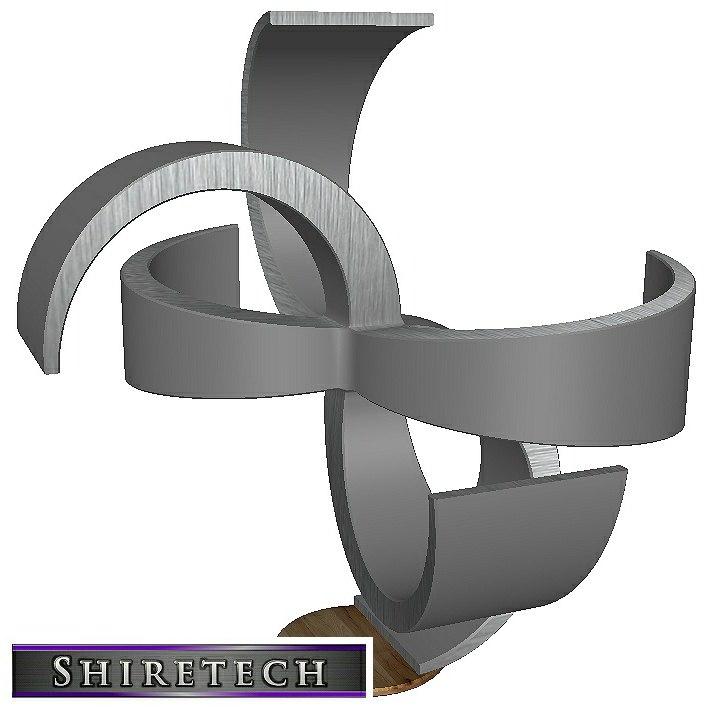metal art sculpture 02 model