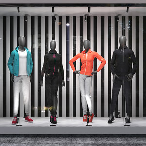 set sport suits 3D