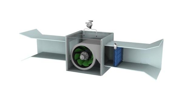 general extract fan 3D model