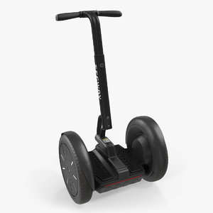 3D segway electric self balance model