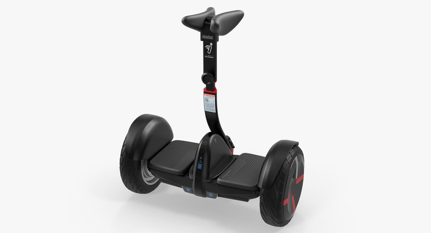 3D smart self balancing personal model