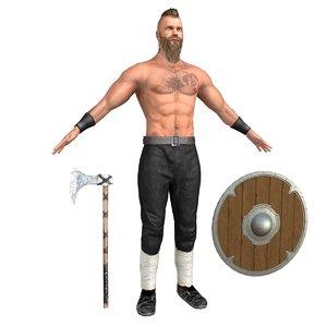 3D viking 3