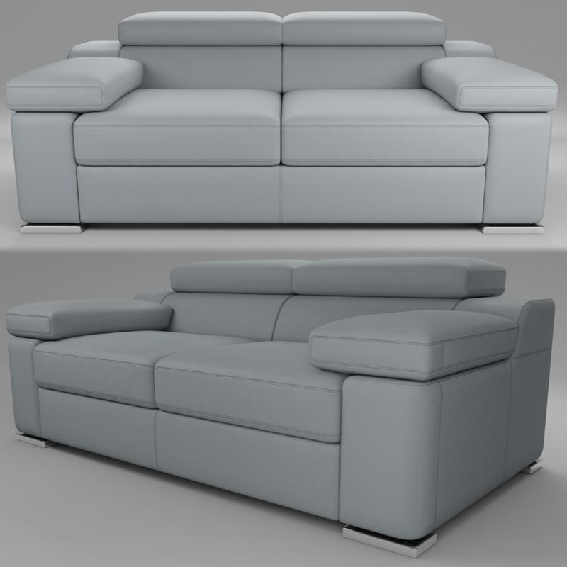 rebecca sofa 3D model