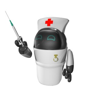robots nurse drone 3D model