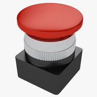 3D industrial button