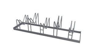 bicycle stand 3D model