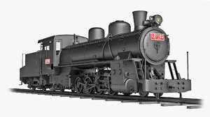 ldt103 locomotive 3D model