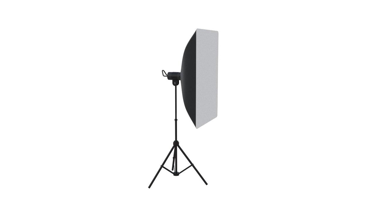 3D simple studio light