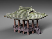 3D chinese arbor