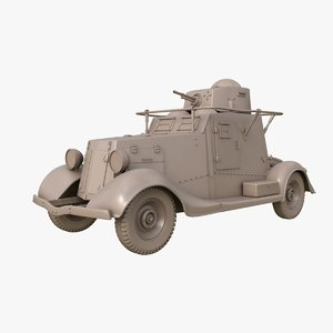 3D fai m armoured car