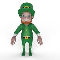 st patrick elf 3D