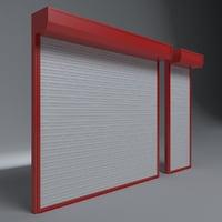 door garages 3D