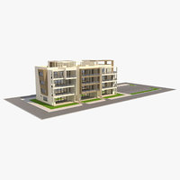 building apartment 3D model