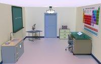 chemistry lab interior