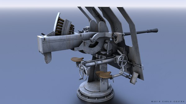 3D flak 42 anti-aircraft aircraft
