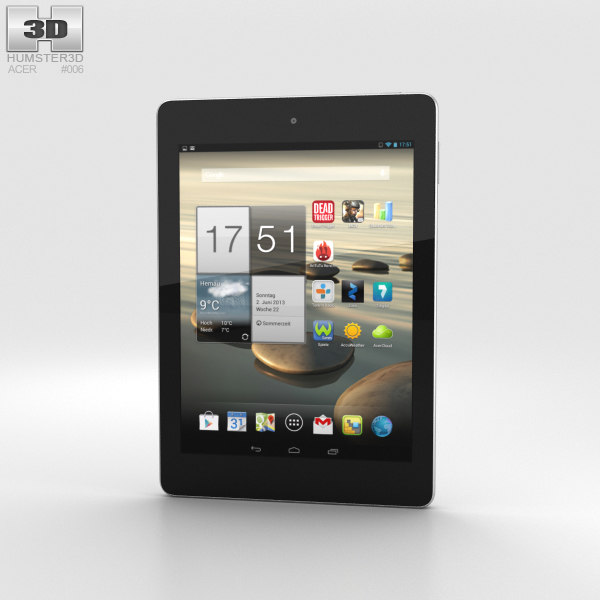 3D acer tab iconia