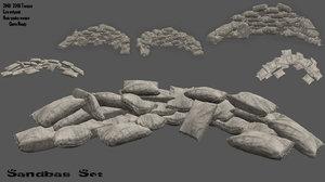 sandbag sand bag model