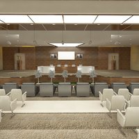 conference hall 29 3D model