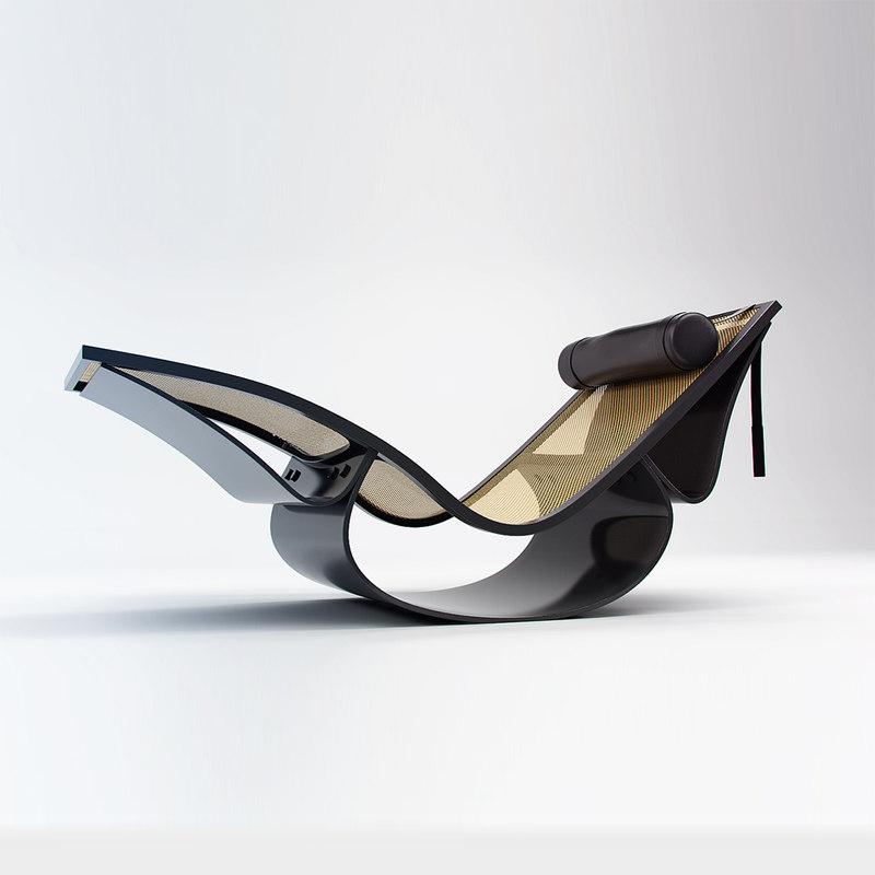 brazilian niemeyer 3D model