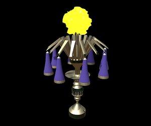 home lamp - 3D model