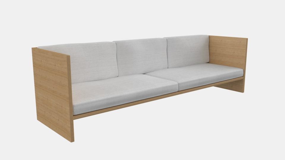 sofa natural model