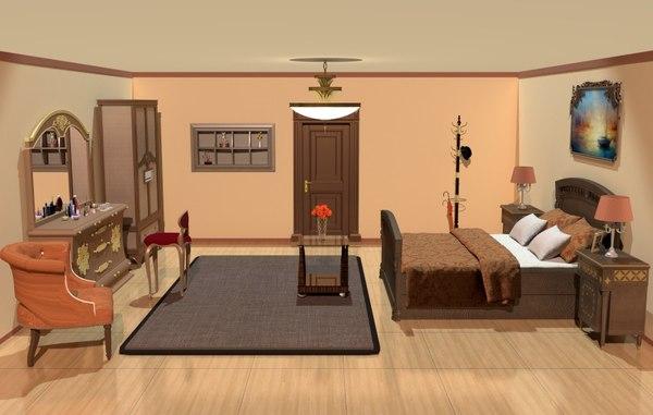 3D bedroom drawer