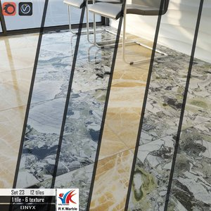 3D tile r k marble