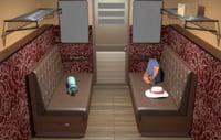 3D class cabin train
