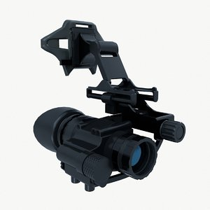 3D night vision device model
