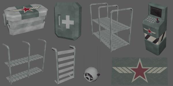 crate units 3D