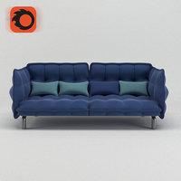 sofa jasmin 3D model