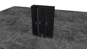 3D large closet model