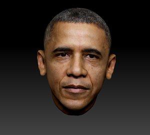3D model obama head