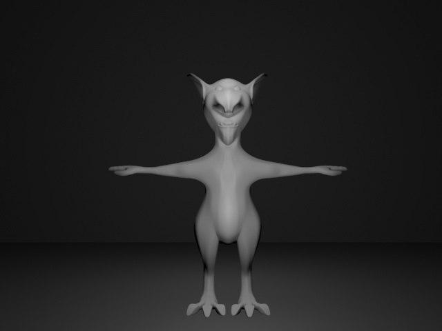 goblin monster 3D model