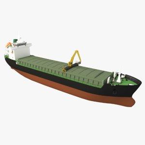original ship 3D model