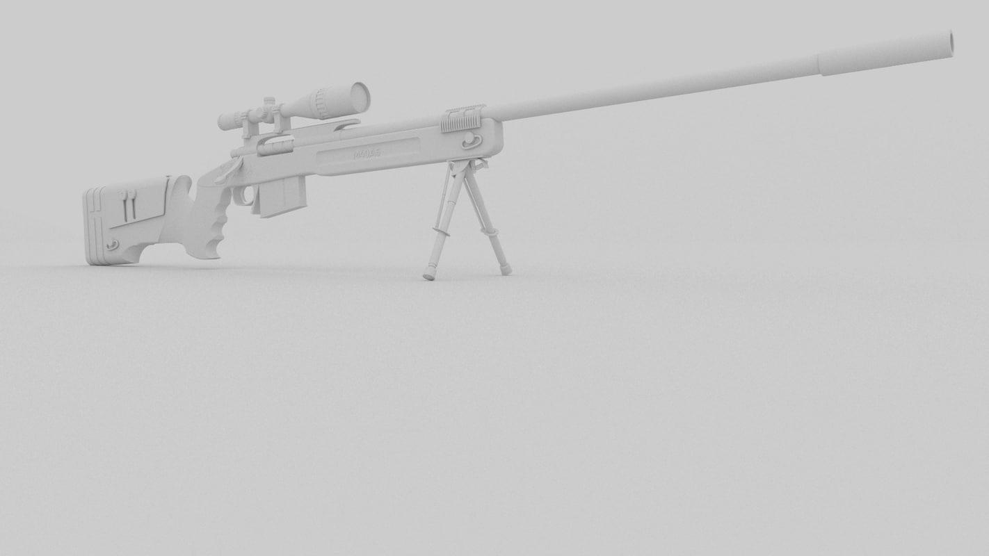 3D m40a5 sniper