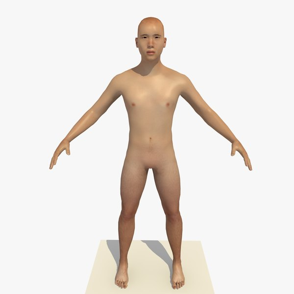 3D realistic human body 25