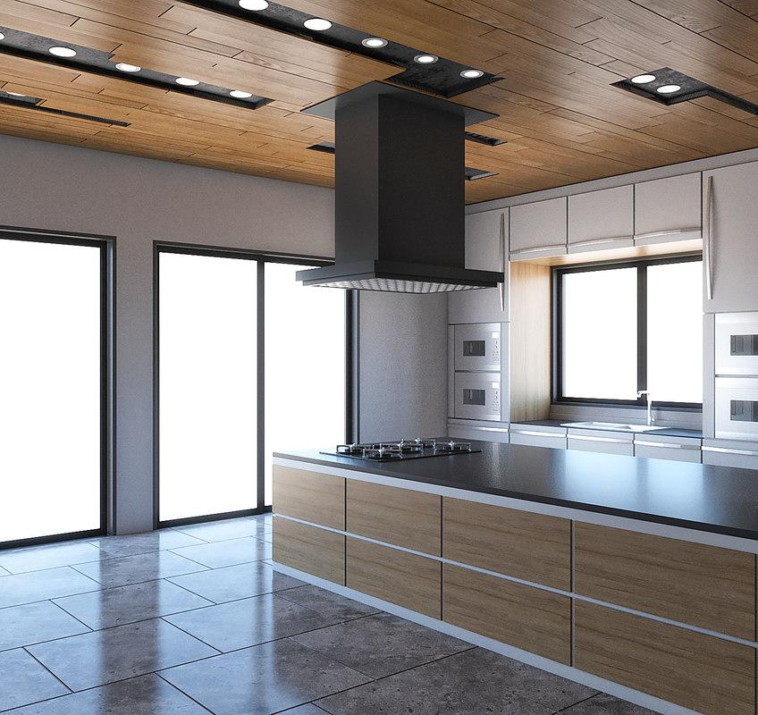 kitchen nterior 3D