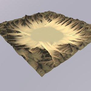 desert games maps 3D model