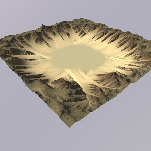 desert games maps 3D model