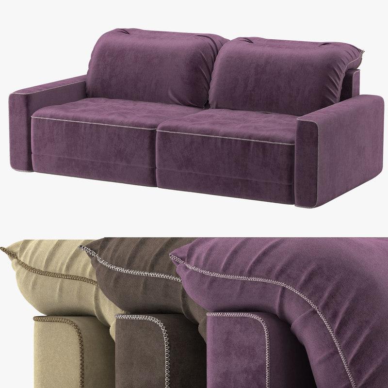 magellan sofa 3D