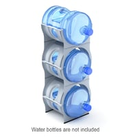 3D contains bottles model