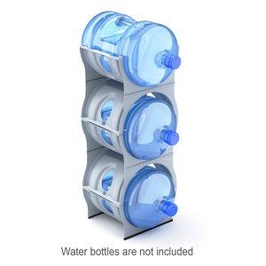 3D contains bottles model