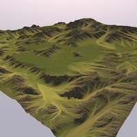 3D big valley model