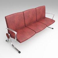 3D modern seating