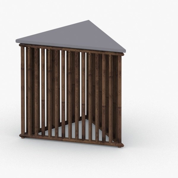 3D - chair table